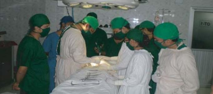 Operation Theater of Enam Medical College